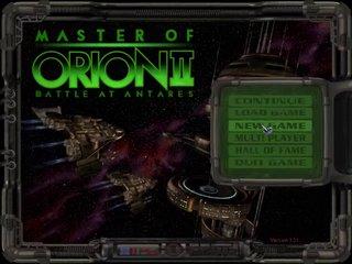 Master of Orion II: Battle at Antares v1.40b23