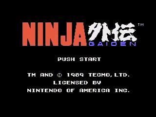 Speed Demos Archive Ninja Gaiden